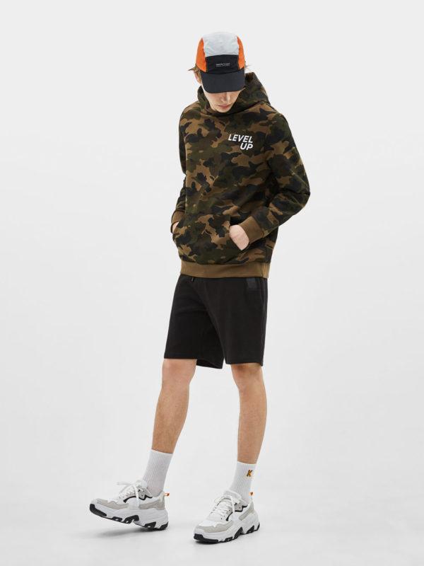 Vintage inspired oversized scream hoodie